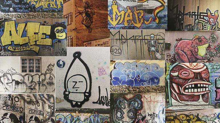 El grafiti es tan viejo como la humanidad  Los Tiempos