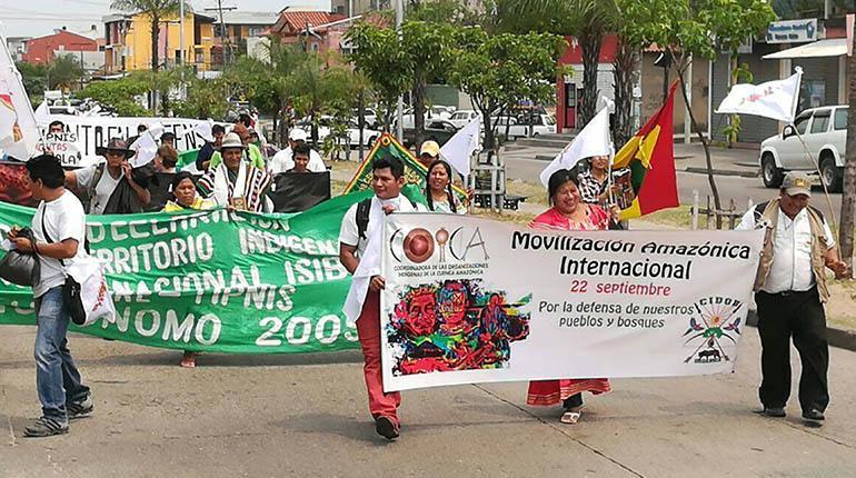 Indígenas de nueve países dan voz a los pueblos en riesgo