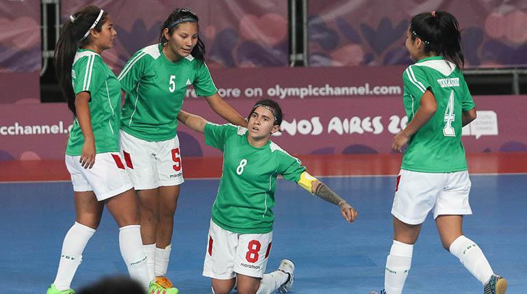 Bolivia buscará asegurar una medalla en el futsal  c9ea1faabda16