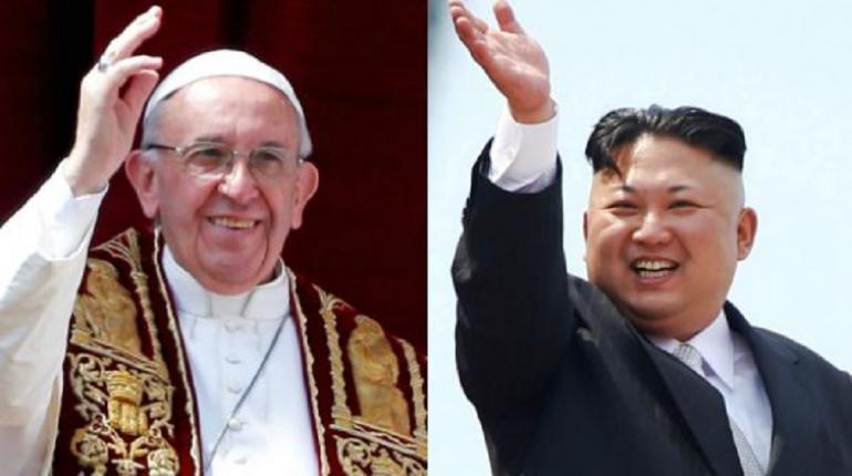 Papa Francisco - Kim Jong-un