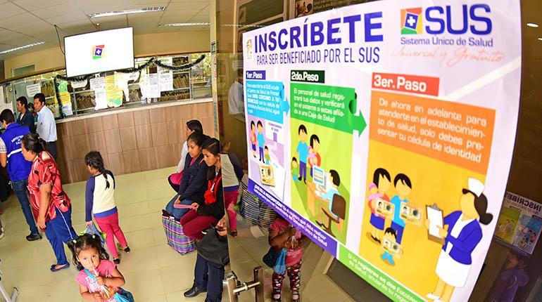 Resultado de imagen para sistema unico de salud arranca este 1 de marzo bolivia