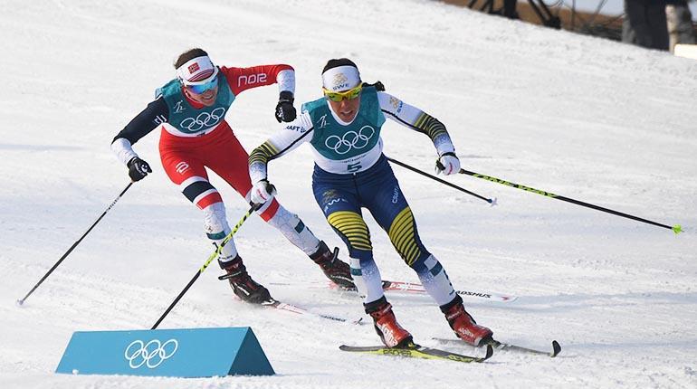 Esqui de fondo olimpiadas