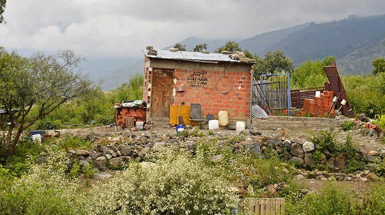 Casas recién construidas dentro el Parque.   Ruben Rodriguez