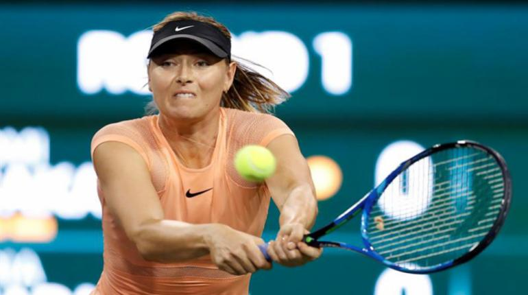 Sharapova cae en primera ronda frente a la japonesa Naomi