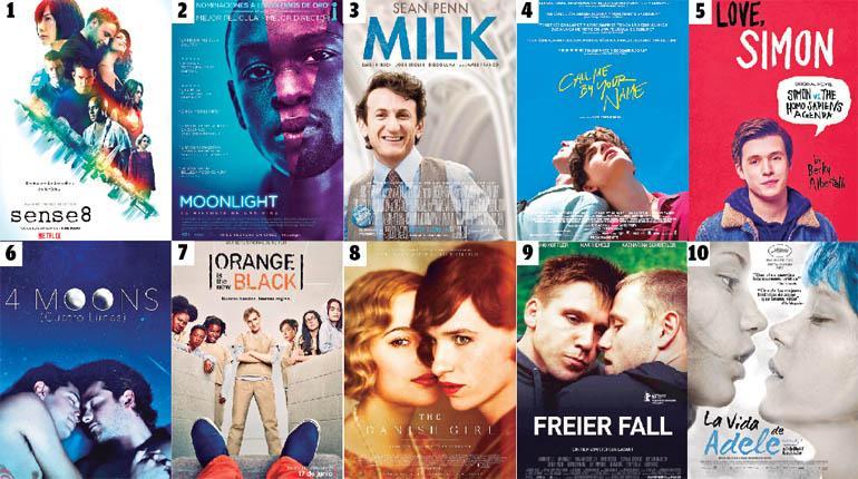top 10 mejores peliculas tematica gay