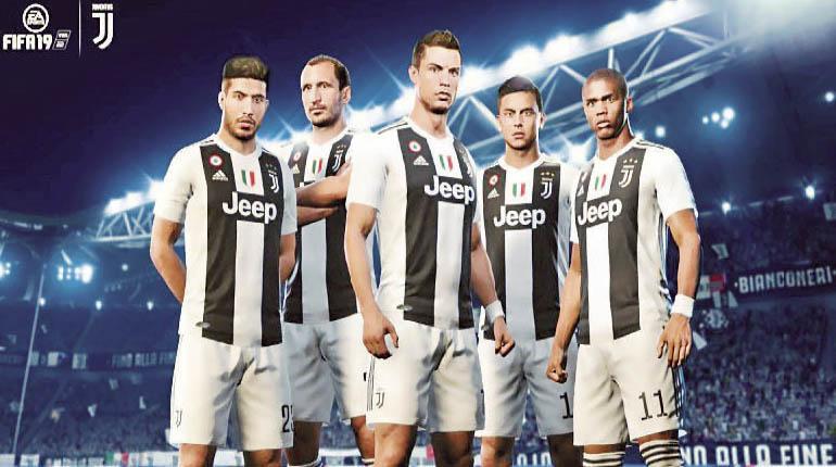 fc78d47ba3 Así se ve Cristiano Ronaldo con la camiseta de la Juventus en el FIFA 19. |  AGENCIAS