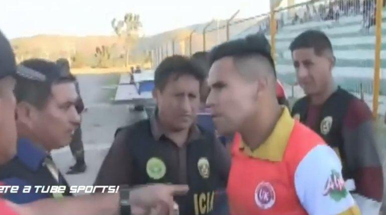 Resultado de imagen para arrestan futbolista copa peru