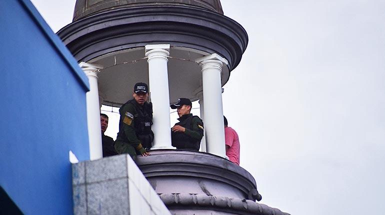 Antisociales peruanos estudiaron el banco una semana antes del golpe