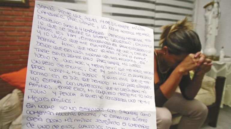 Víctima de violación rompe el silencio: Yo estaba con quienes creía eran mis amigos