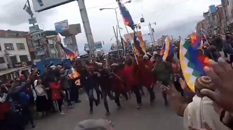 Resultado de imagen para guerra civil Evo Morales, El Alto