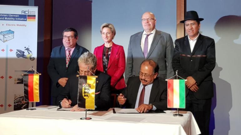 Alemania expresa su extrañeza por la cancelación unilateral de la empresa  mixta para el litio | Los Tiempos