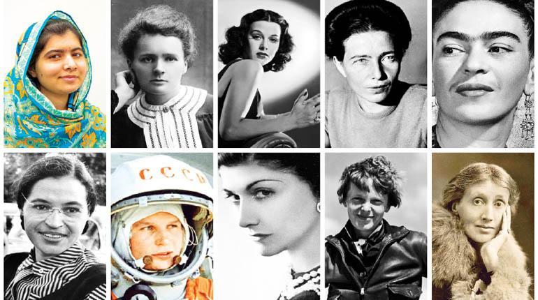 Resultado de imagen de mujeres que han hecho historia