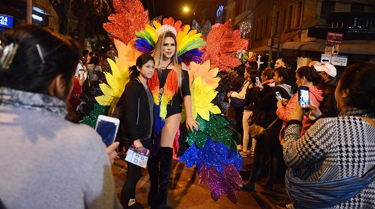 marcha gay bolivia santa cruz 2020