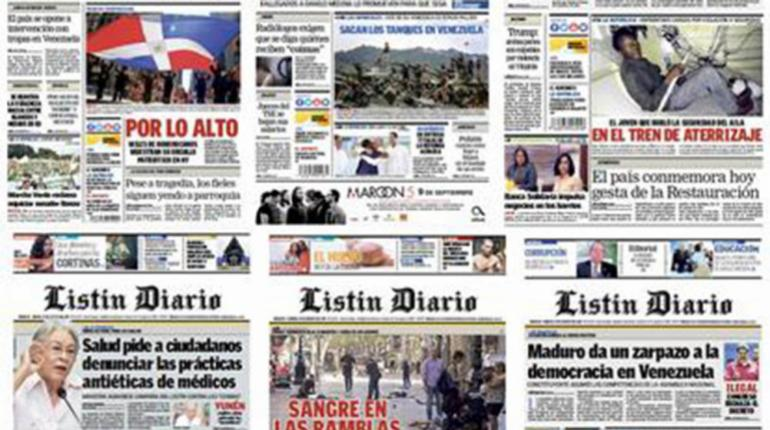 El Listín Diario Decano De La Prensa Dominicana Cumple 130 Años Los Tiempos