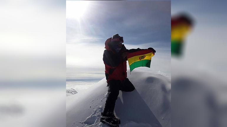 Resultado de imagen para bernardo guarachi antártida