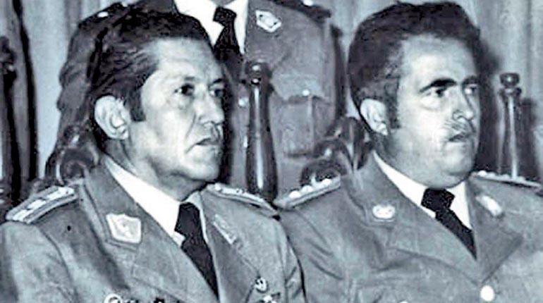 Arce Gómez, una larga carrera y un sombrío prontuario   Los Tiempos