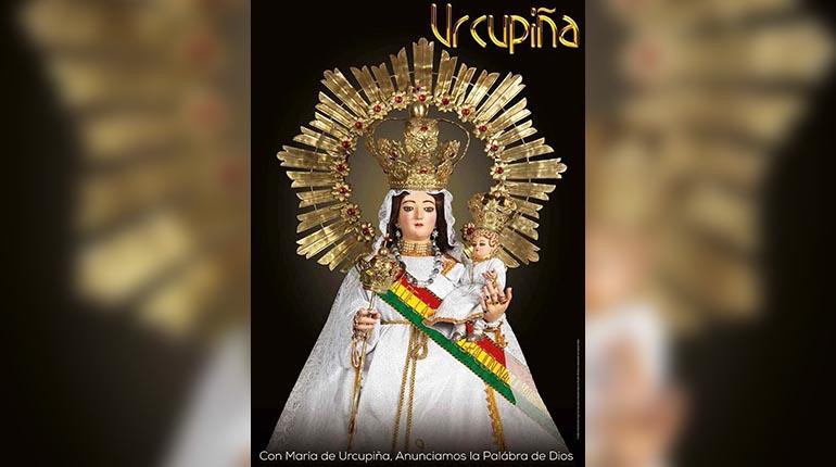 Santuario presenta afiche de la Virgen de Urkupiña | Los Tiempos