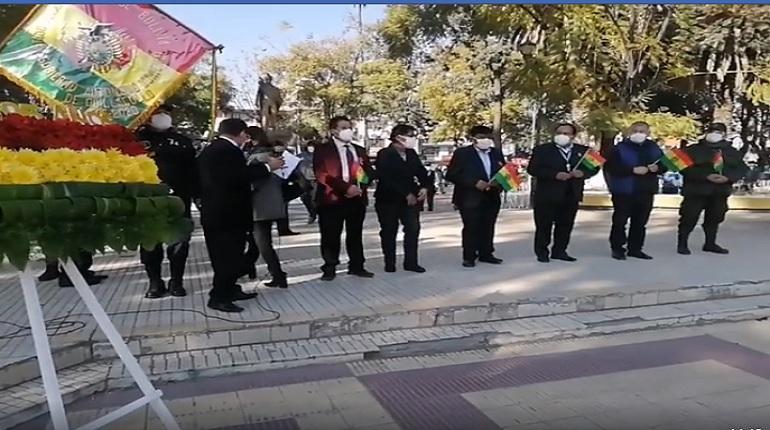Quillacollo Rinde Su Homenaje Al 195 Aniversario De Bolivia Los Tiempos