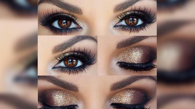 c mo maquillar los ojos marrones los tiempos On lapiz de ojos verde para ojos marrones