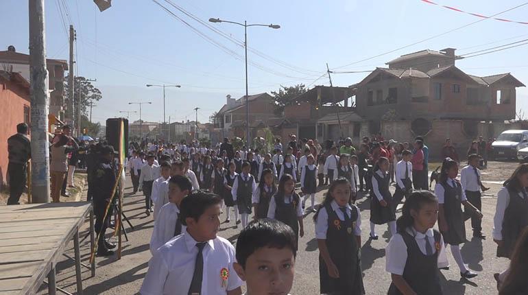 Quillacollo Da Inicio A Los Festejos Por El 192 Aniversario De Bolivia Los Tiempos